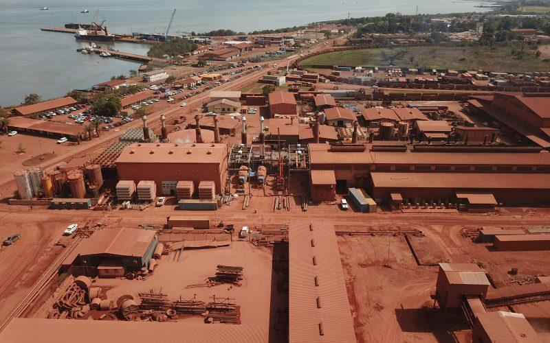 IMM a construit la centrale de Kamsar