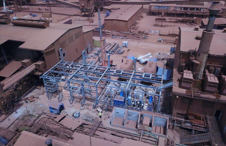 La Compagnie des Bauxites de Guinée (CBG) agrandit sa centrale électrique de Kamsar avec I.M.M.