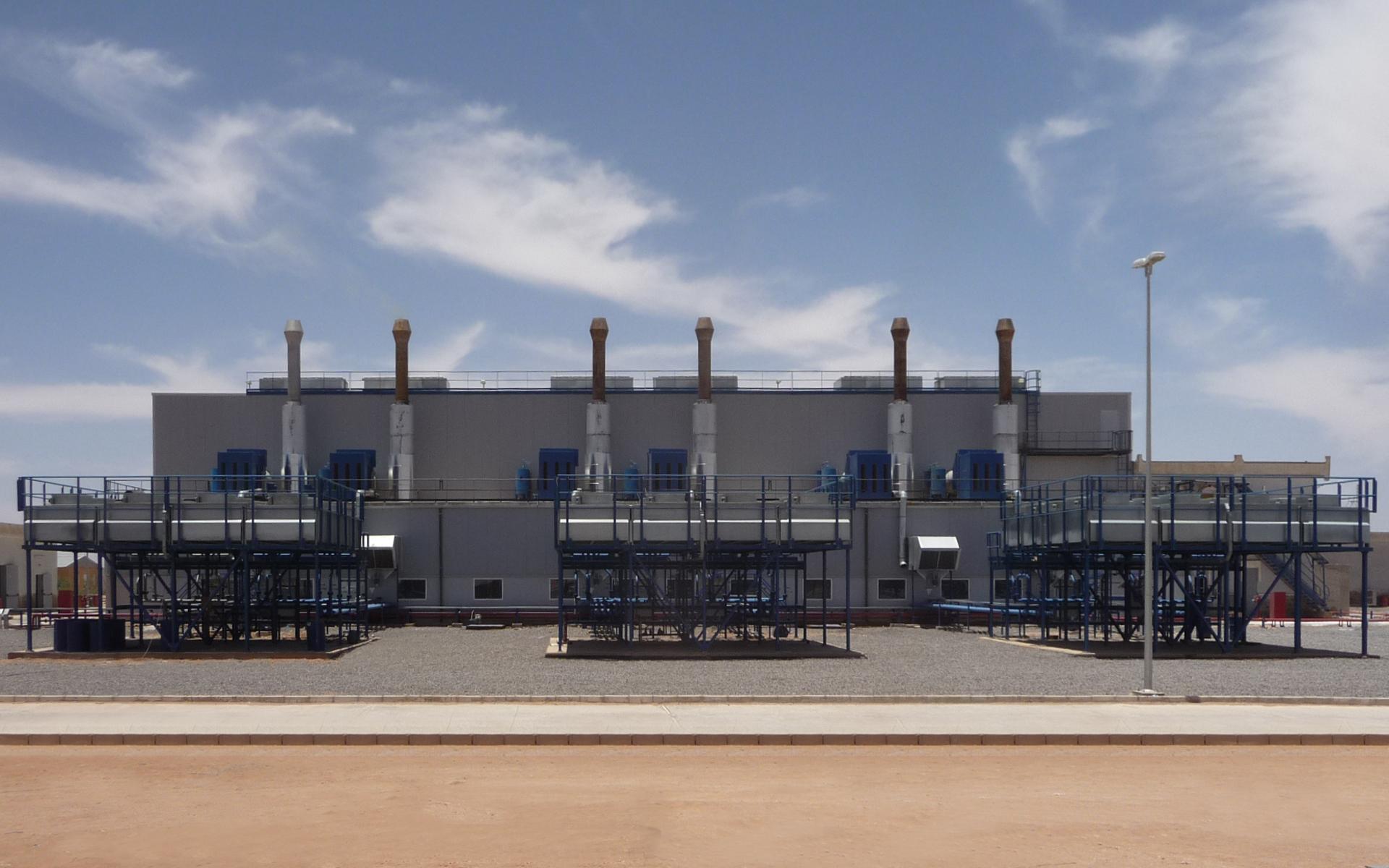 Réalisation et extension de centrales dans le sud de l'Algérie par IMM