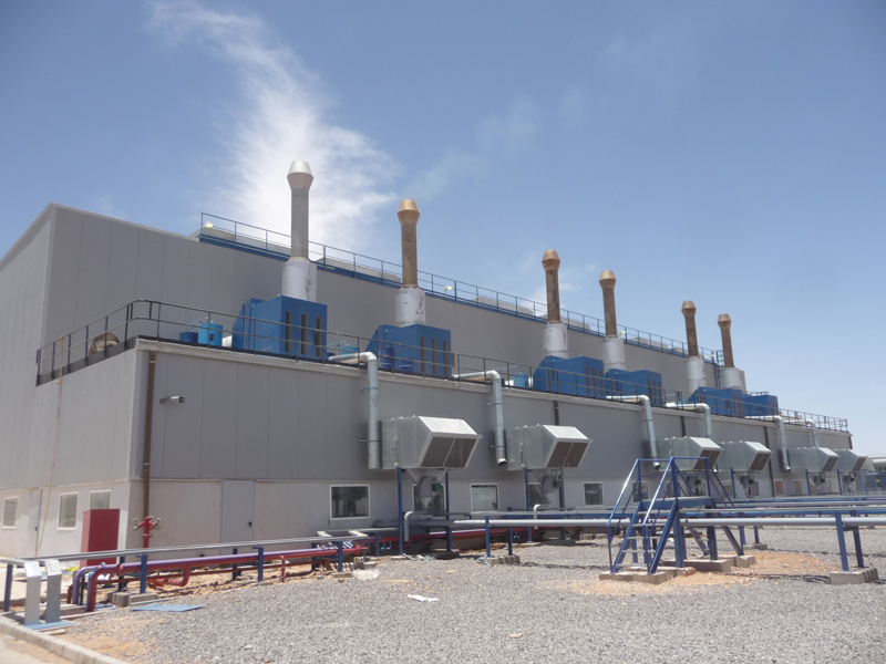 IMM builds thermal power plants in Africa since 1984
