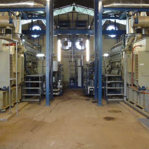 Bissau power plant by IMM - Flexible power solutions