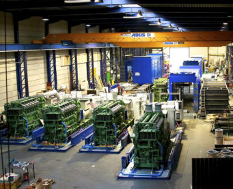 Montage and commissioning of generators for the realisation and/or extension of the diesel power plants in south Algeria by IMM.