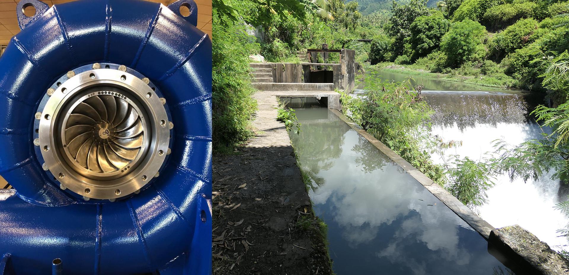 IMM et HPP remportent le contrat de réhabilitation de 3 centrales hydroélectriques aux Iles Comores - IMM and HPP awarded a contract for 3 hydropower plants in Comoros islands